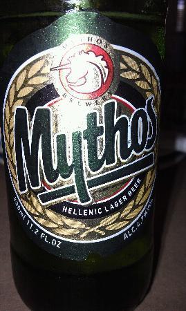 Athena Greek Taverna: greek beer