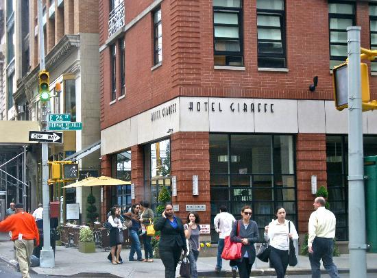 Hotel Giraffe by Library Hotel Collection: Hotel exterior on 26th St. and Park Avenue South