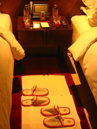 Jumeirah Creekside Hotel : service de couverture
