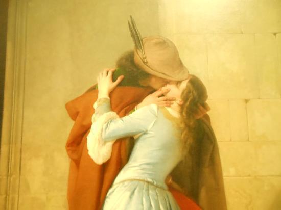 Pinacoteca di Brera: The Kiss SEP2012