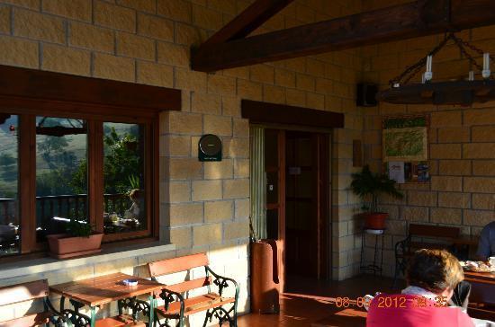 Hotel El Ardinal: terracita del hotel