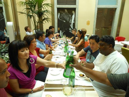los angeles group sep2012 foto di conti cafe di milano