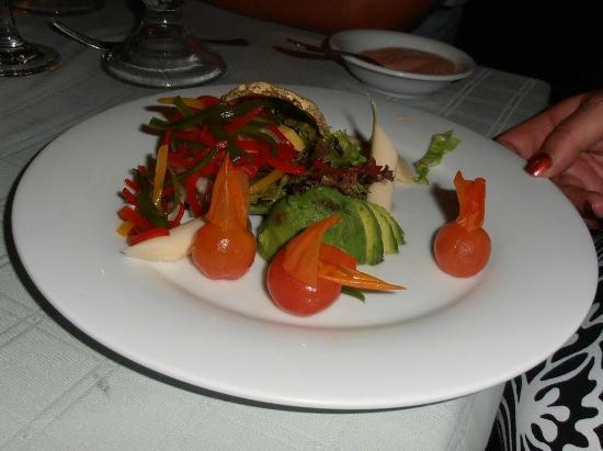 Cilantro's: A salad plate