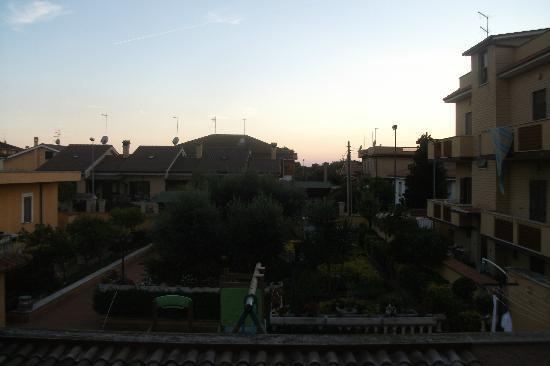 Le 2 Ville : panorama dalla terrazza