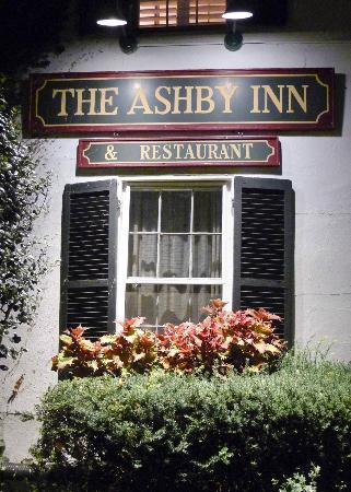 The Ashby Inn: The front entrance