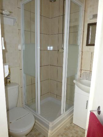 Appley Hotel: En suite shower