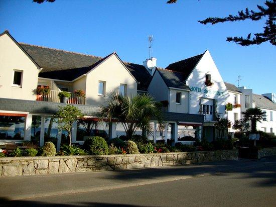 Fouesnant, Γαλλία: vue de l'hôtel