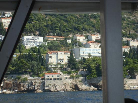 Villa Orsula: View from the boat