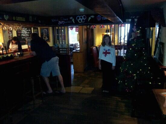 Chequers Inn: It Christmas all year here!