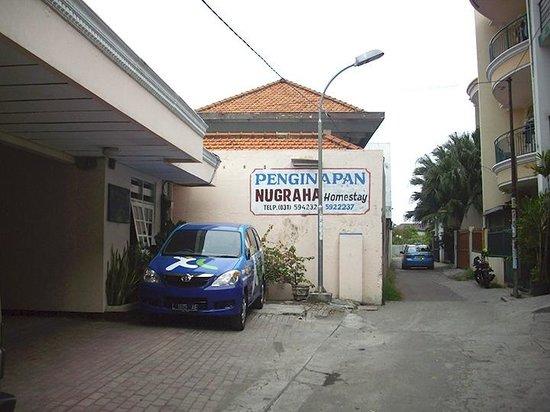 Rumah Nugraha: View upon arrival