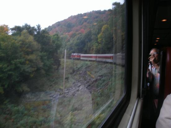 Agawa Canyon Tour Train: The train