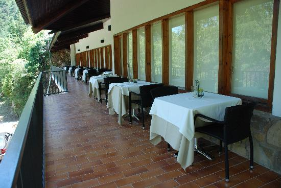 Restaurant Font Negra: Nuestra terraza