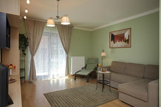 Apartamenty TWW Centrum: living room