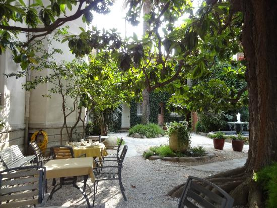 Casa Pairal: jardin