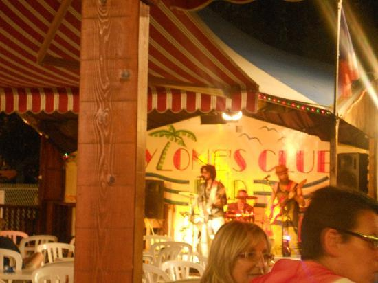 Camping du Pylone: Night entertainment