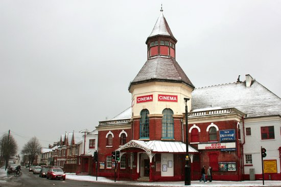 Bognor Regis, UK: The Picturedrome in the snow