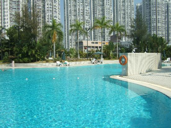 Harbour Plaza Resort City Hong Kong: The very large pool