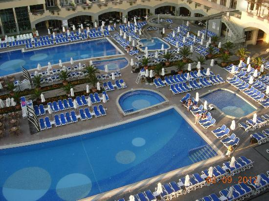 Iberostar Sunny Beach Resort: from balcony