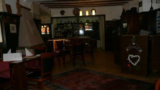 Anker Hotel-Restaurant: Reception Area