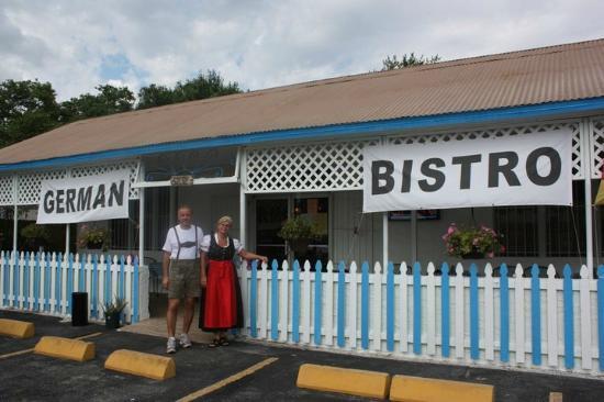 German Bistro: Store Front