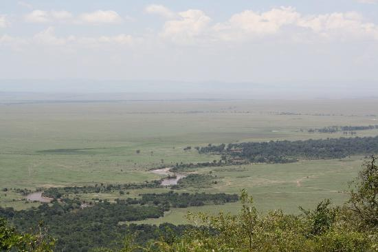 Kilima Camp: View from our tent