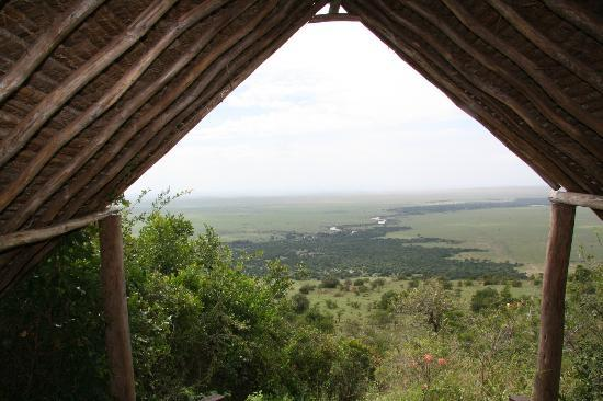 Kilima Camp: View from the camp