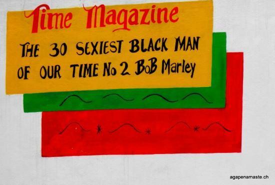 Bob Marley Museum : sexiest man