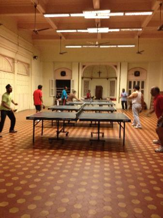 YMCA Central Branch: bring your own table tennis bats- there's also a gym