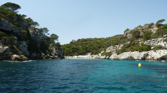 Menorca Blava: Cala Macarelleta