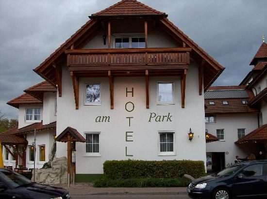 Hotel am Park : Frontale dell'hotel