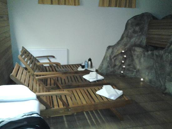 Hotel Kristal: SAUNA