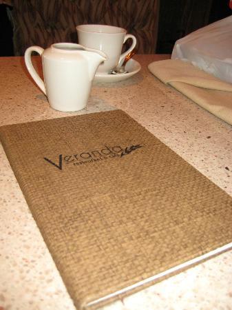 Veranda Restaurant and Cafe: veranda