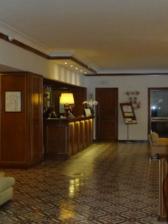 Grand Hotel Capodimonte: Reception