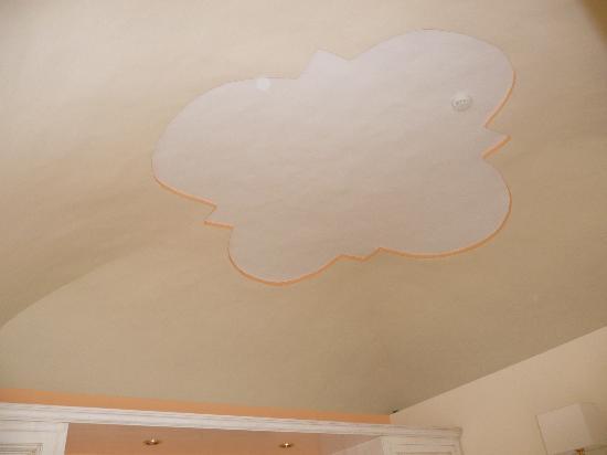 Hotel Santa Lucia: Il soffitto 