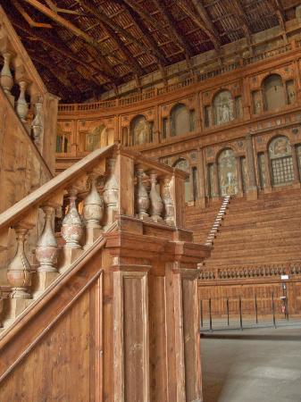 Teatro Farnese: particolare del teatro