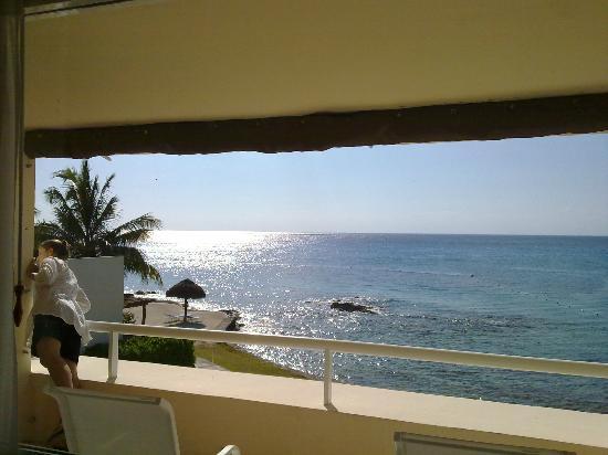 Presidente Inter-Continental Cozumel Resort & Spa: Tamanho da janela ajuda aproveitar a vista...