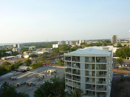 DoubleTree by Hilton Hotel Darwin: View from balcony