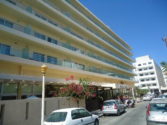 Hotel Athena: Athena hotel frontview