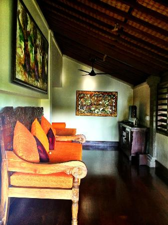 Bidadari Private Villas & Retreat : TV Room