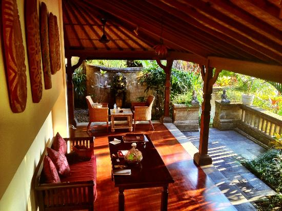 Bidadari Private Villas & Retreat - Ubud: Our living room