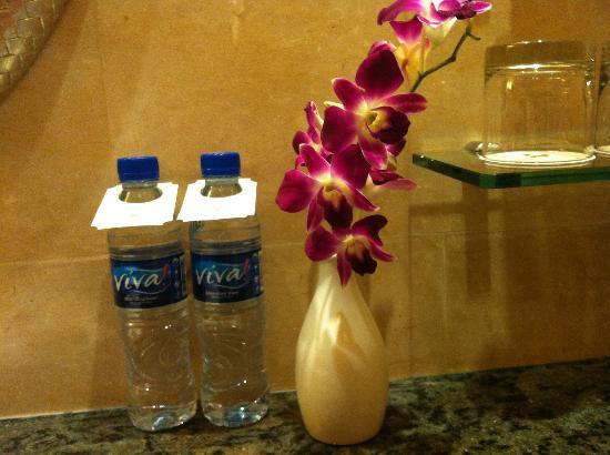 Edsa Shangri-La: complimentary water