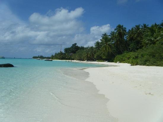 คุรามาธิ ไอแลนด์ รีสอร์ท: Beach