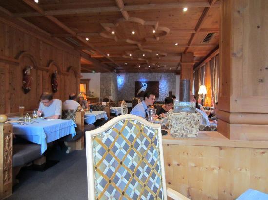 Alpenhotel Ischglerhof: Hotel restaurant