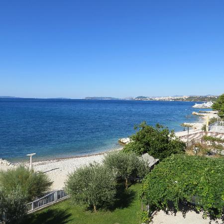 Villa Perisic: view from the balcony
