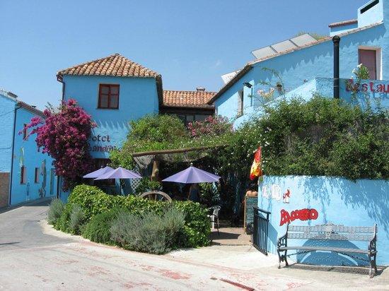 Juzcar, Spanien: Hotel Bandolero