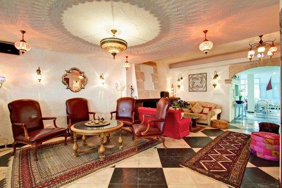 Hostal Paris: Lounge