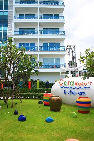 Cera Resort Chaam: บริเวณตึกที่พัก