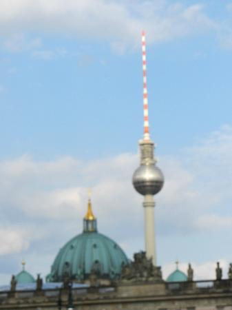 Brewer's Berlin Tours: TV tower...visable from almost anywhere in Berlin