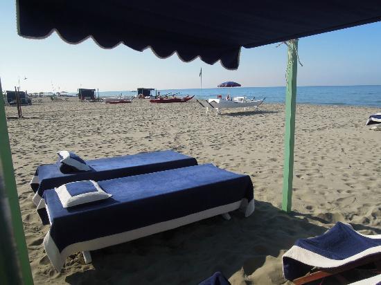 Bagno Dalmazia: typical mini tenda