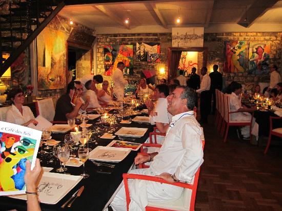 Le Cafe des Arts: Diner à Nouvel an - New Year 2048652554 11 - 2012